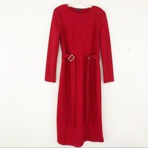 Zara Midi Buckle Dress (C1)